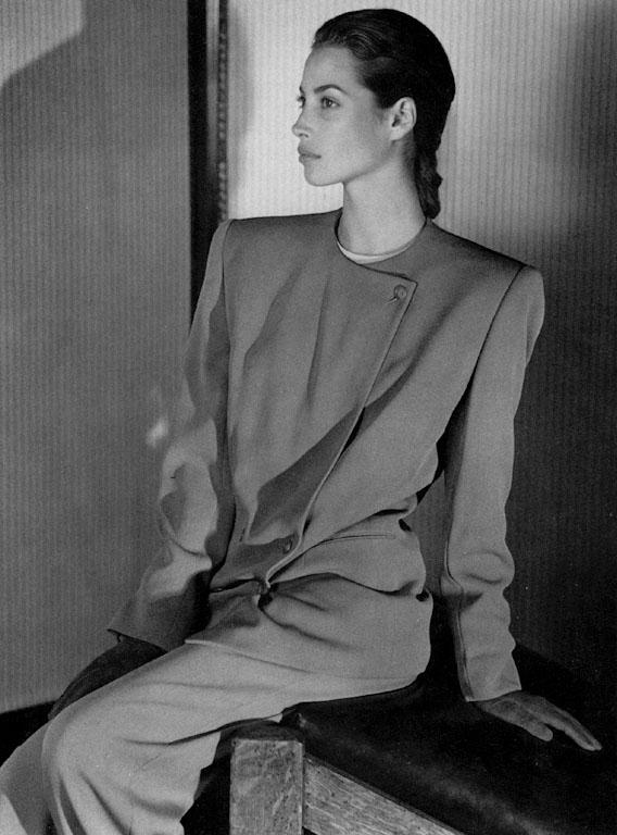 A Christy Turlington Gallery : 1989